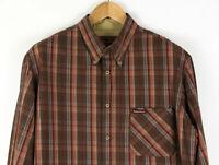 MARLBORO CLASSIC Men Check Casual Shirt Size XXL ADZ390