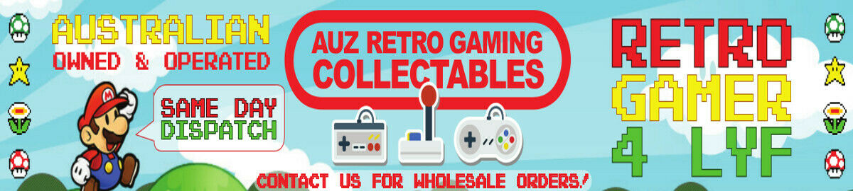 Auz Retro Gaming N Collectables