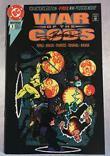 WAR OF THE GODS #3~COLLECTOR'S EDITION~HAND-SIGNED BY GEORGE PEREZ~DC COMICS