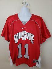 Nike Ohio State Buckeyes Red Women's Jersey #11 Size XL