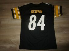 Antonio Brown #84 Pittsburgh Steelers nfl Jersey Youth Child Medium M 10-12