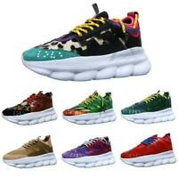Lightweight Luxury Ace Chain Reaction Mens shoes Trainers Rubber sneakers Hot