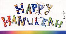 Happy Hanukkaah Money Holder Hanukkah Card - Recycled Paper Greetings