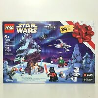New LEGO Star Wars Advent Calendar 75279 Kids Building Kit 311 Pieces 24 Gifts