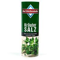 Bad Reichenhaller - Kräuter Salz mit Jod + Folsäure 300 g - Kräutersalz Jodsalz