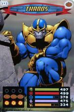 Spiderman Heroes And Villains Card #141 Thanos