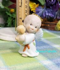 Enesco Morehead Angel Boy with Red hair freckles and puppy ornament 1987