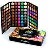 120 Farben Lidschatten Eyeshadow Kosmetik Matt Schminke Palette Makeup-Set w/ Gi