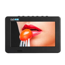 "Mini Portable 7"" Inch LED DVB-T/T2 TV Player Support AV/USB/TF Digital TV MF"