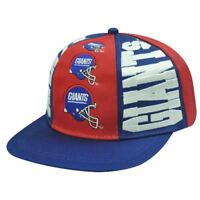 SNAPBACK HAT CAP NFL NEW YORK GIANTS OLD SCHOOL VINTAGE DEADSTOCK DREW PEARSON
