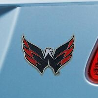 Washington Capitals Heavy Duty Metal 3-D Color Auto Emblem