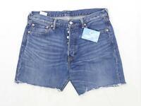 Levis Mens Blue Denim Shorts Size W34/L5