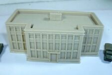 Resin unpainted very large office buildings for 6mm wargames, 1/300th scale