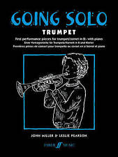 Going Solo Trumpet First Pieces Book Piano Part Miller & Pearson Faber Music B45