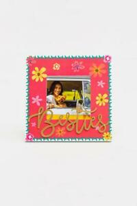 Besties Floral Picture Frame