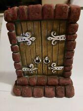 Fairy Garden Large Brick Fairy Door Accessories Dollhouse Miniatures Gothic