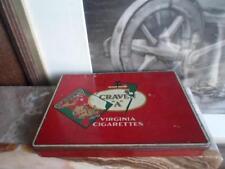 Vintage Carreras Craven A Virginia Cigarettes Tin
