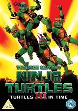 Teenage Mutant Ninja Turtles 3 - Tartarughe In Tempo (DVD, 2014)