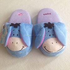 Winnie The Pooh Eeyore Plush Slippers Shoes Sandal Size US 5-9, UK 3-7, EU 34-40