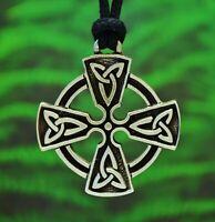 Celtic Cross Necklace | Cross Pendant | Celtic Jewelry in Fine Lead-Free Pewter