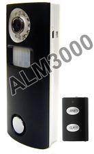 Motion-Activated Camera DVR W/ Solar Panel + Night Vision  + 130db Siren Alarm
