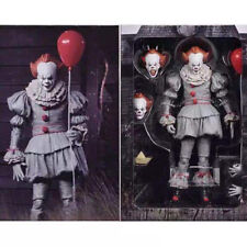"""NECA IT Ultimate Stephen King's It Pennywise Clown Joker 7"""" Action Figure Toys"""