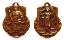 Medaglia FGRL 1909 Concorso Internazionale Di Ginnastica E Sport Milano Bronzo