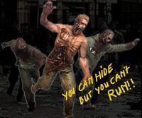 1/35 Resin 3 Running Zombies unpainted unassembled CK036