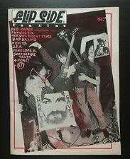 FLIPSIDE FANZINE ISSUE #31 MAGAZINE JFA MISFITS BAD BRAINS RED CROSS SPHEERIS