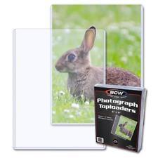 25 Bcw 6 x 8 - Topload Photo / Print Holders 6x8 Toploaders