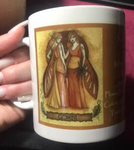 Jessica Galbreth Zodiac Fairies Gemini Fairy Mug