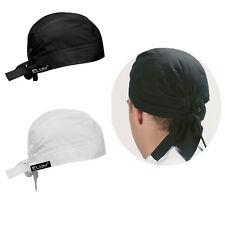 More details for chef's bandanna zandana bandana head protective cap kitchen thermo cool back tie