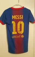 Nike Lionel Messi FC Barcelona Jersey Ad Small