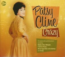 PATSY CLINE CRAZY - 2 CD BOX SET - I FALL TO PIECES, TRUE LOVE & MANY MORE