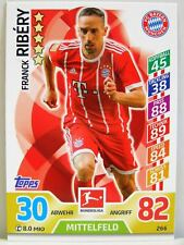 Match Attax 2017/18 Bundesliga - #266 Franck Ribery - FC Bayern München