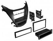 Radio Replacement Dash Mount Install Kit Double/Single-DIN w/Pocket for Hyundai