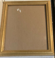 Vintage Brass Gold Metal Ornate Embossed Photo Picture Frame