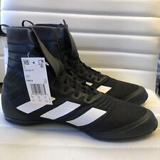Adidas Speedex 18 Boxing Shoes High Top Black Msrp $150 New