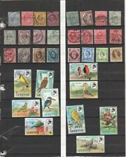 Worldwide Collection of Used and Mnh stamps 12 Pages Over $750.00 Catalog Value
