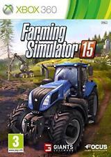 Xbox 360 Farming Simulator 15 Over 125 Authentic Vehicles Microsoft PAL UK
