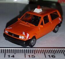 AMW AUTOMODELLE VOITURE VOLKSWAGEN VW POLO EMERGENCY PLASTIQUE CAR SCALE 1:87 HO