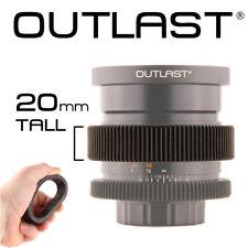 OUTLAST 20mm Flexible Follow Focus Gear Aperture Iris Lens Cinema Gear Universal