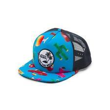 2da8b548a38c79 VANS Surf Patch Trucker Snapback Hat OS El Guapo