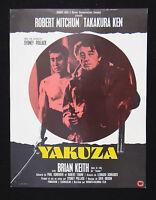 YAKUZA photo scenario film 1974 KUNG FU / Robert Mitchum Sydney Pollack