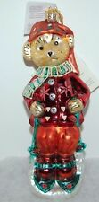 Radko Sleddin' And Skiddadlin' Christmas Ornament 97-Nab-01 Muffy Vander Bear