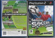 SENSIBLE SOCCER 2006 PLAYSTATION 2 PS2 [2006] nuovo sigillato