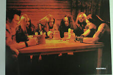 FINNTROLL Full Page Pinup magazine clipping VIKING METAL gathered around a table