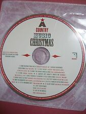 A Country Music Christmas 2006 hardcover DJ + 15 track CD