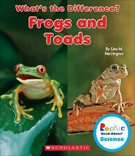 Rookie Read-About® Science What's the Difference?: Frogs and Toads by Lisa M....