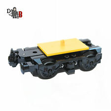 Custom Lego City Train engine bogie with buffer & wheels for carriages 60197
